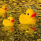 """""""Afternoon Delight"""" - Rubber Duckies Floating into the Sunset by ArtThatSmiles"""