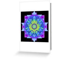 Inner Light Mandala Greeting Card