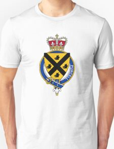 Coat of arms (family crest) for last-name or surname Purcell (Ireland) . Heraldry banner for your name. T-Shirt