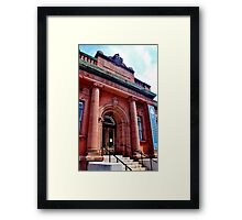 The Carengie Building Framed Print