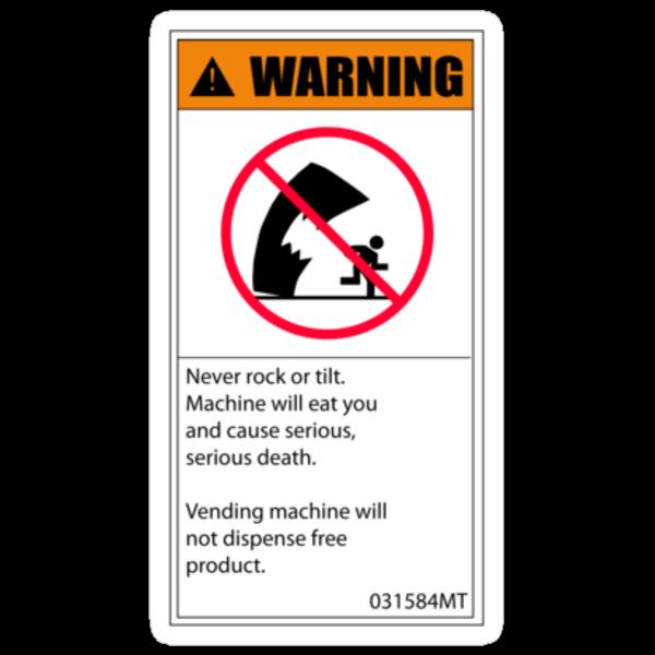 vending machine stickers