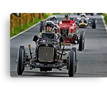 Cars and Drivers - Formula Monoposto Canvas Print