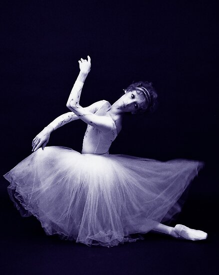 Ballet great Natalia Makarova in 1979 by Daniel Sorine