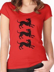 Three Hounds Women's Fitted Scoop T-Shirt