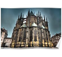 HDR Saint Vitus Cathedral Poster