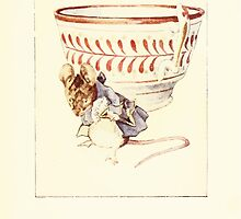 The Tailor of Gloucester Beatrix Potter 1903 0039 Moust Dressed at Teacup by wetdryvac
