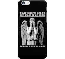 The image of an angel. (Bloody Version) iPhone Case/Skin