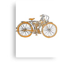 Steam Punk Cycling Metal Print