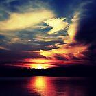 Red sky's night by Joshua Greiner
