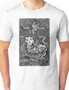 Hooka Smoking Catterpillar Unisex T-Shirt