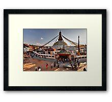 Bodnath Stupa Framed Print