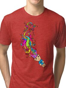Abstract In My Mind Tri-blend T-Shirt
