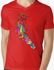Abstract In My Mind Mens V-Neck T-Shirt