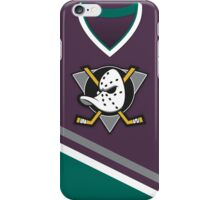 Mighty Ducks of Anaheim Away Jersey iPhone Case/Skin
