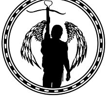 Celtic Ring/Angel Wings - Daryl Dixon  by Dezi-Hutchinson