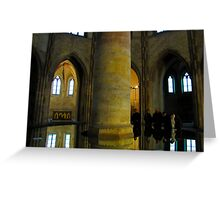 Mirror in Saint Jacobins Greeting Card