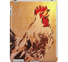 Rooster'... iPad Case/Skin