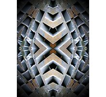 X Matrix Photographic Print