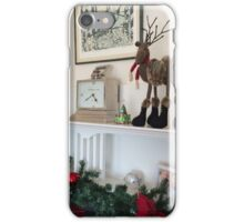 Christmas Mantle iPhone Case/Skin
