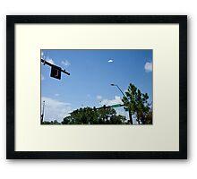 Flying Saucer Framed Print