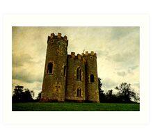 Blaise castle, Bristol, UK Art Print