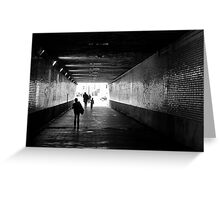 End of darkness Greeting Card