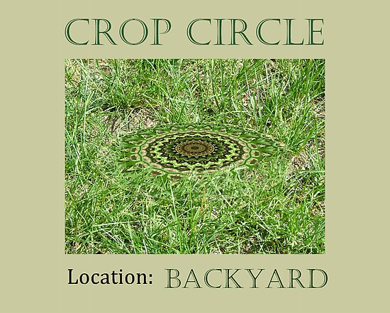 Crop Circle - Location: Backyard by Jorge S Jimenez
