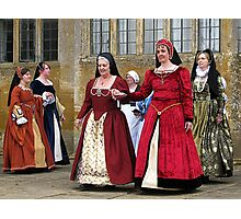 Make Way For The Dancers At Montacute House Photographic Print