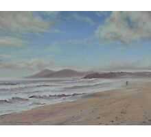 Morning's Haze - One Mile Beach, Forster Photographic Print