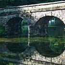 Bridge At Beautiful Stourhead, Wiltshire by lynn carter