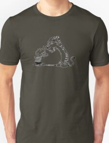 calvin and hobbes white T-Shirt