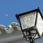 A small moon on the roof by Shienna