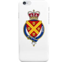 Coat of arms (family crest) for last-name or surname Read (England) . Heraldry banner for your name. iPhone Case/Skin