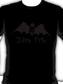 Bite Me Funny Vampire Halloween T-Shirt