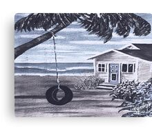 Oko's WinTer ReTreat............ Canvas Print