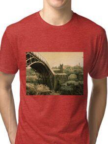Ironbridge Village Antique Tri-blend T-Shirt