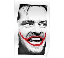 THE JOKER X SHINING X JACK NICHOLSON Poster