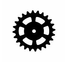 Cog and Roll Photographic Print