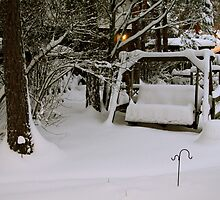 Buried in snow by homesick