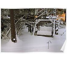 Buried in snow Poster