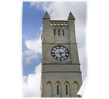 The Clock Tower of Shanklin United Reformed Church Poster