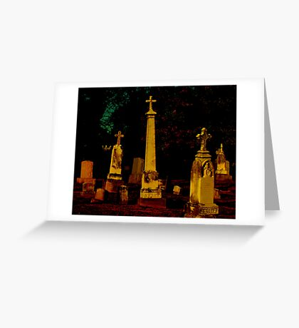 A Cemetary in Kentucky Greeting Card