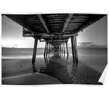 Henley beach jetty, Adelaide South Australia Poster