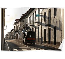 Street in Vila Franca do Campo Poster