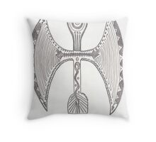 Labrys Throw Pillow