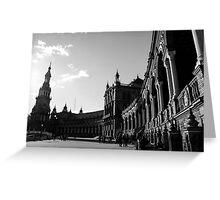 Seville - Plaza de Espana Greeting Card