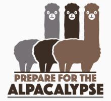 Prepare For The Alpacalypse by AmazingVision