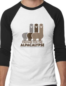 Prepare For The Alpacalypse Men's Baseball ¾ T-Shirt