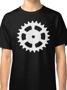Cog and Roll (white) Classic T-Shirt