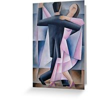 The Dancers. {Contra-check} Greeting Card